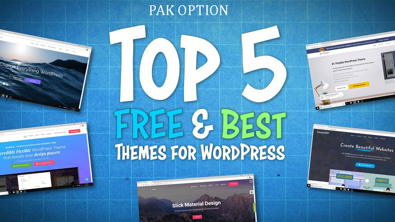 5 Best Themes For WordPress