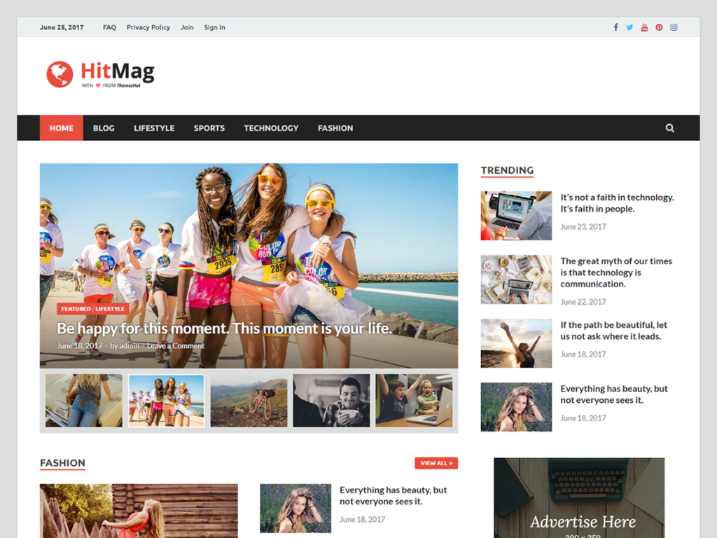 Download Hitmag Theme For WordPress