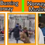 Norway Quran incident |  Anti-Islam Rally Turns Violent Over QURAN BURNING