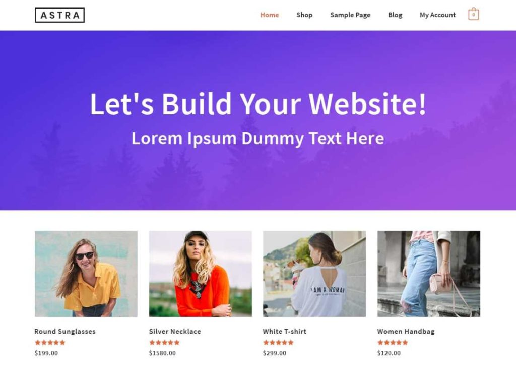 Download Astra Theme For WordPress