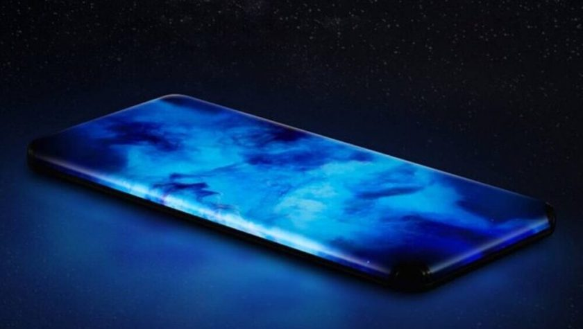 Xiaomi's Shows Off Smartphone With a Displayed Curves on All Sides